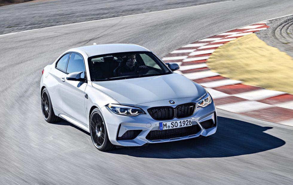 2019 Bmw M2 Competition Sees Track Car Star Get 405hp Slashgear