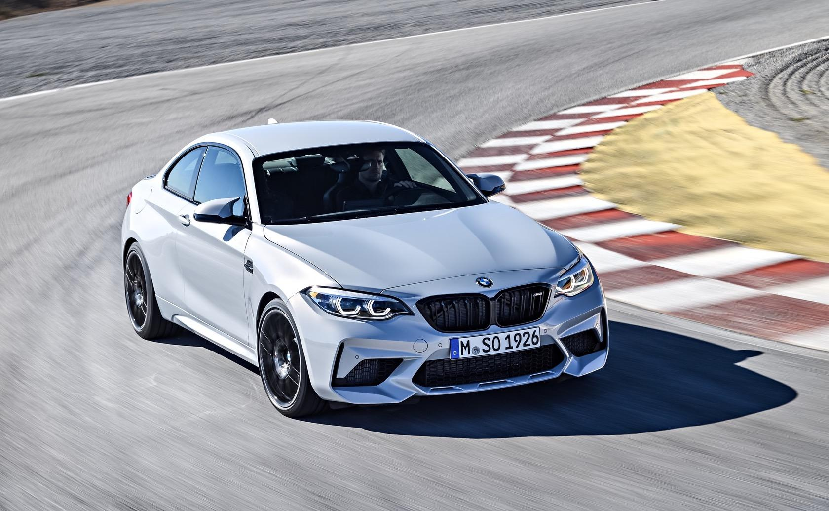 2019 Bmw M2 Competition Sees Track Car Star Get 405hp