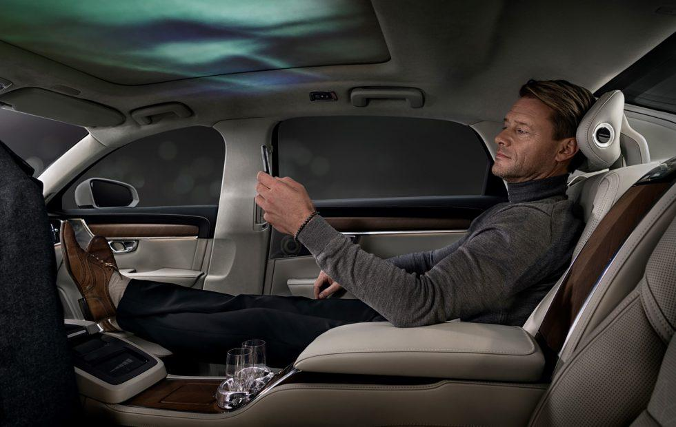 Volvo newest 3-seat concept car's cabin is a light and scent haven