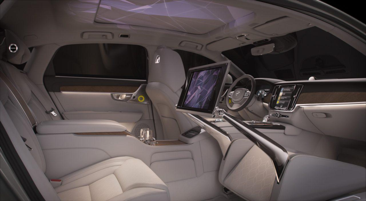 Volvo Newest 3 Seat Concept Car S Cabin Is A Light And Scent