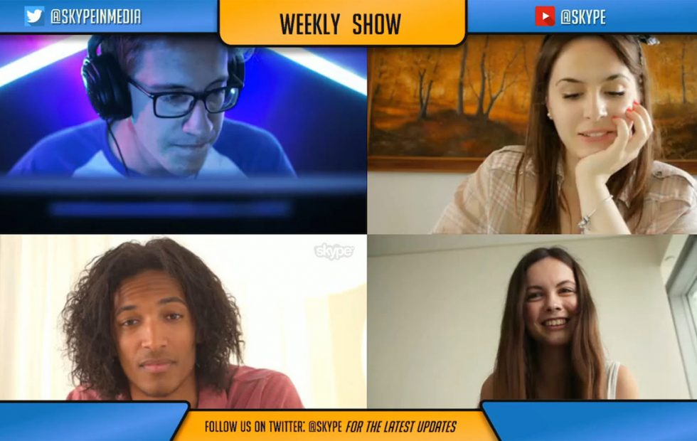 Skype debuts Content Creator mode with features for podcasters & streamers