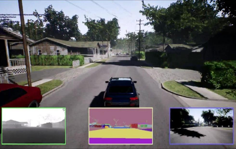 Microsoft Garage Project Road Runner trains self-driving cars