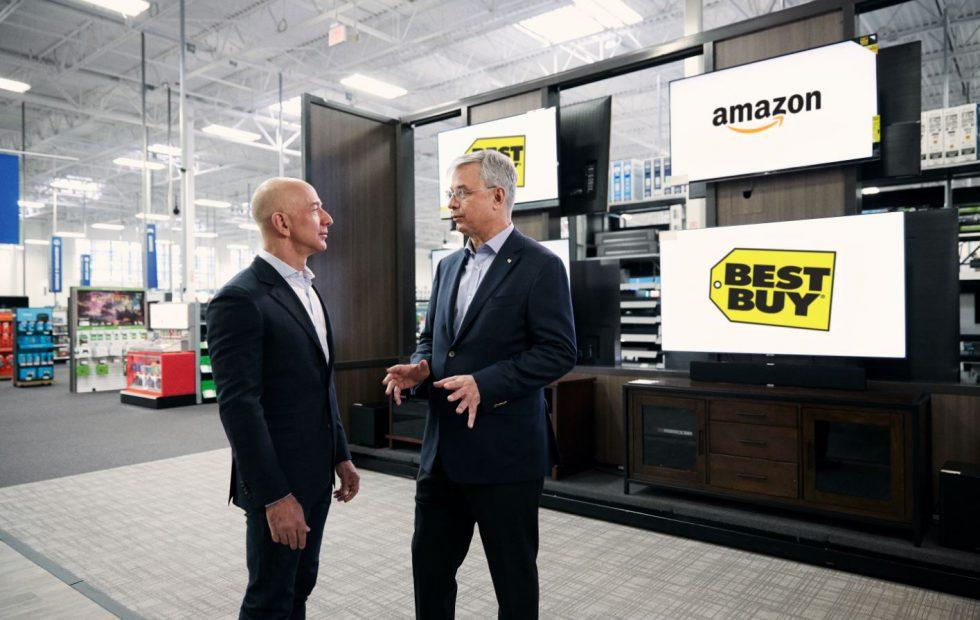 Amazon and Best Buy team up to sell Fire smart TVs