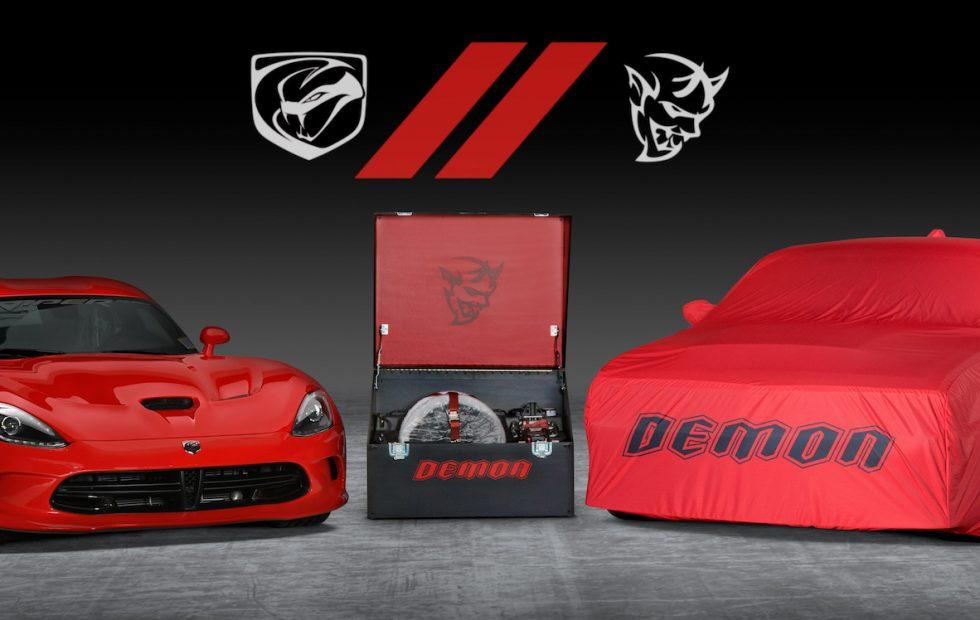 1,485hp auction: Final Dodge Viper and Demon go under the hammer