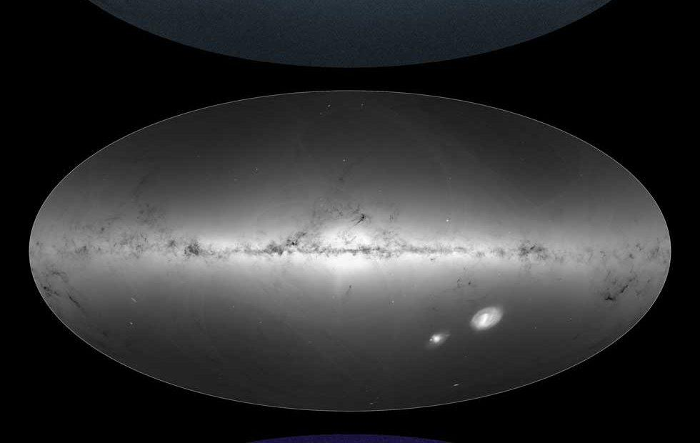 ESA's Gaia provides most detailed star catalog ever and it's gorgeous
