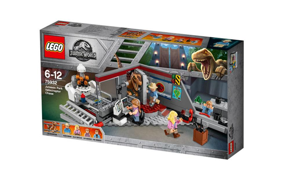 LEGO Jurassic Park 25th Anniversary set launches next week