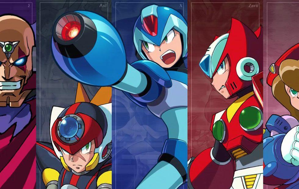 Mega Man X Legacy Collection heads west later this year