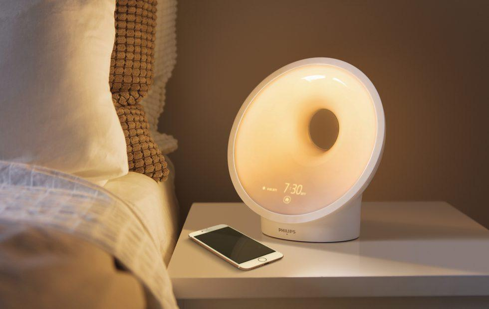 Philips' Somneo Connected lamp is an air critic for your bedroom