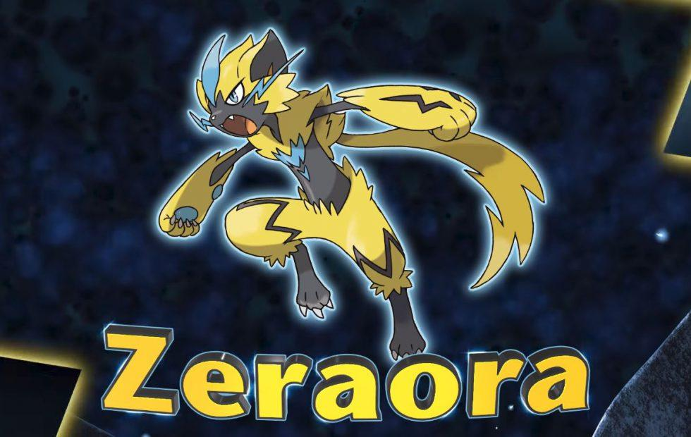 Zeraora, Pokemon's newest mythical monster, arrives later this year