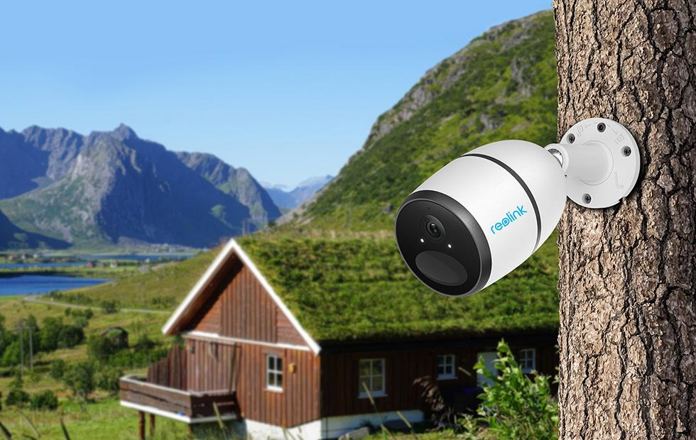 Reolink Go wireless outdoor camera has built-in 4G LTE