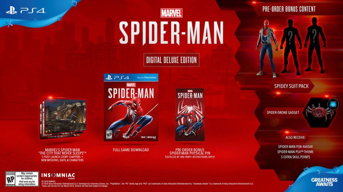 Insomniac's Spider-Man PS4 release date confirmed - SlashGear