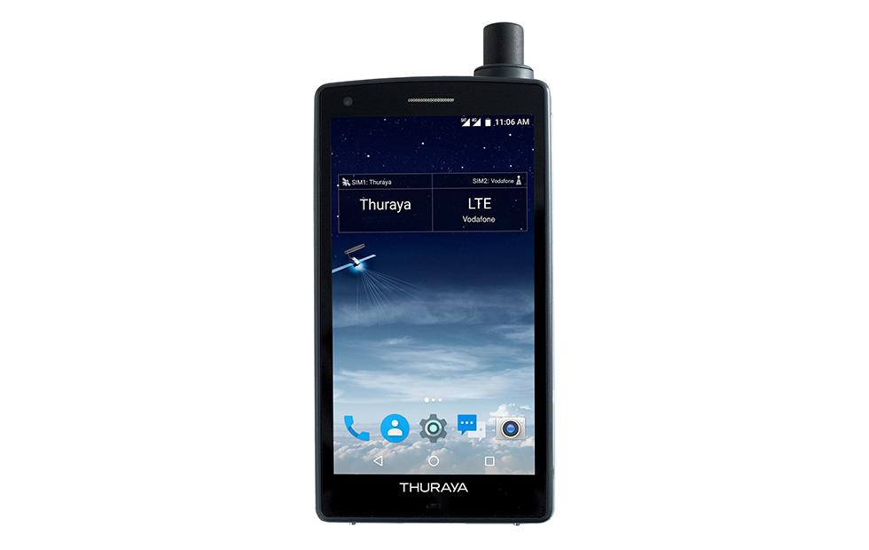 Thuraya X5-Touch is the world's first Android satellite smartphone