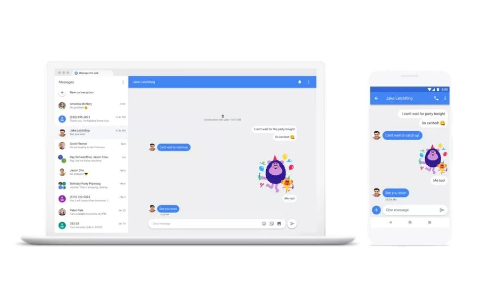 Chat is Google's industry-backed answer to Apple iMessage