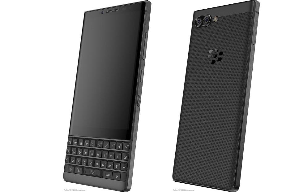 "BlackBerry KEYone successor ""Athena"" renders leak out"
