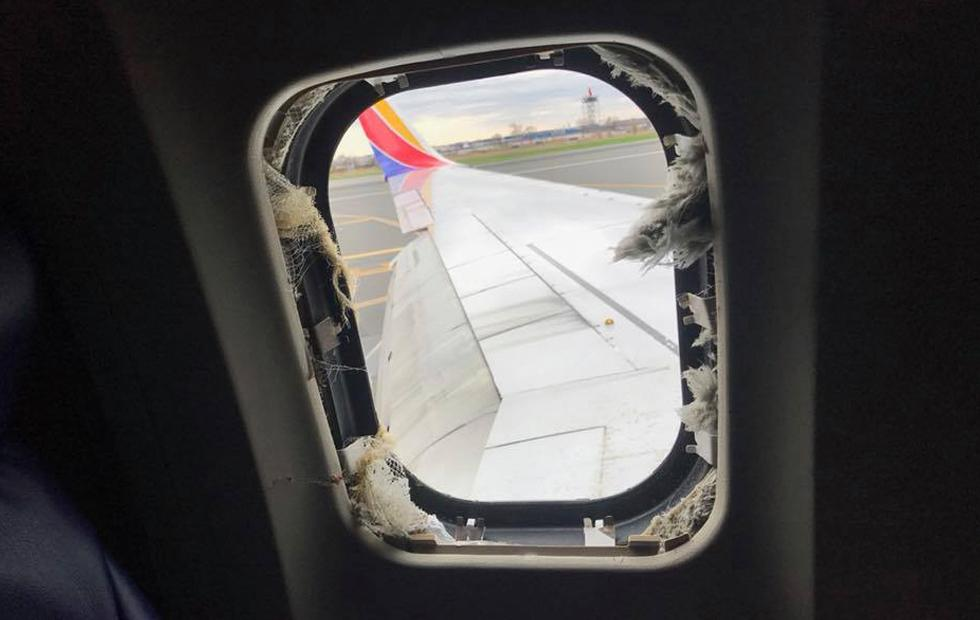 Southwest flight 1380: Woman partially blown out of window, one heart attack, safe landing
