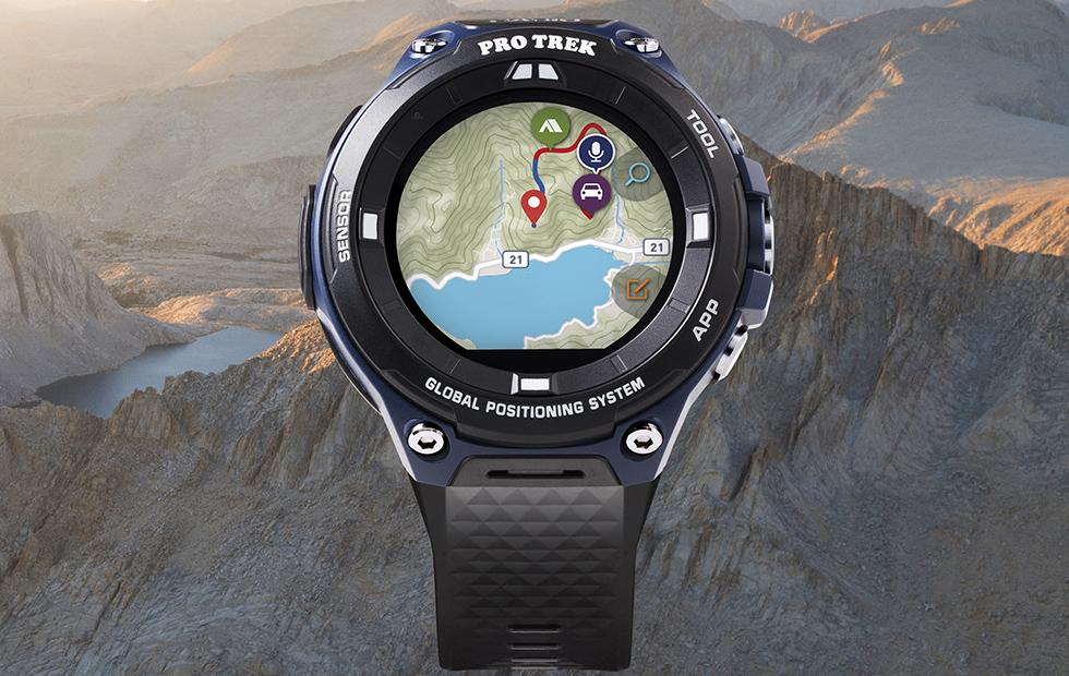 Casio Pro Trek WSD-F20A watch is designed for outdoor adventures
