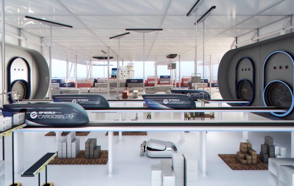 Virgin Hyperloop One wants to replace cargo planes