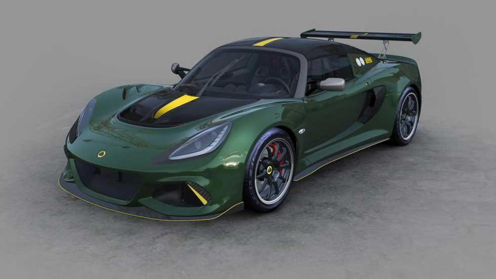 Lotus Exige Cup 430 Type 25 packs power and aero in a limited edition package