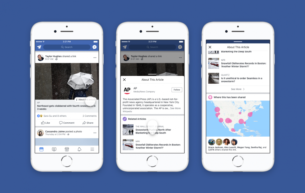 Facebook's fake news fight takes publisher check nationwide