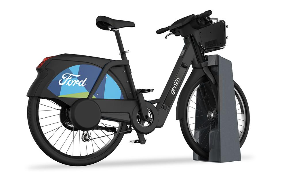 Ford GoBike electric bicycle sharing pilot arrives in San Francisco