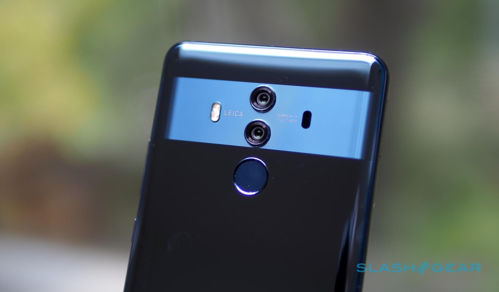Huawei Mate 10 Pro Gallery - SlashGear
