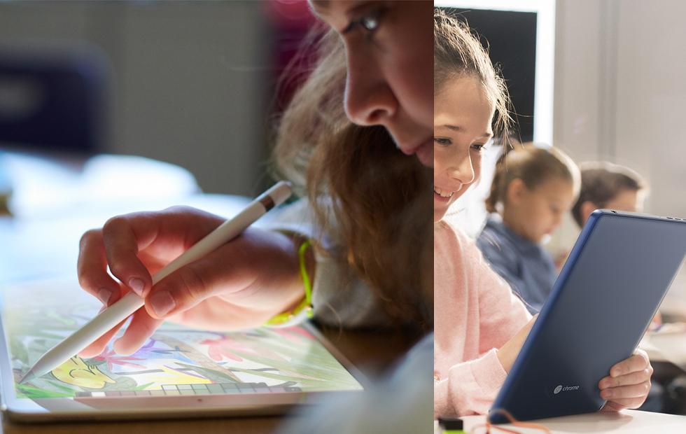 2018 iPad vs. Acer Chromebook Tab 10: education showdown