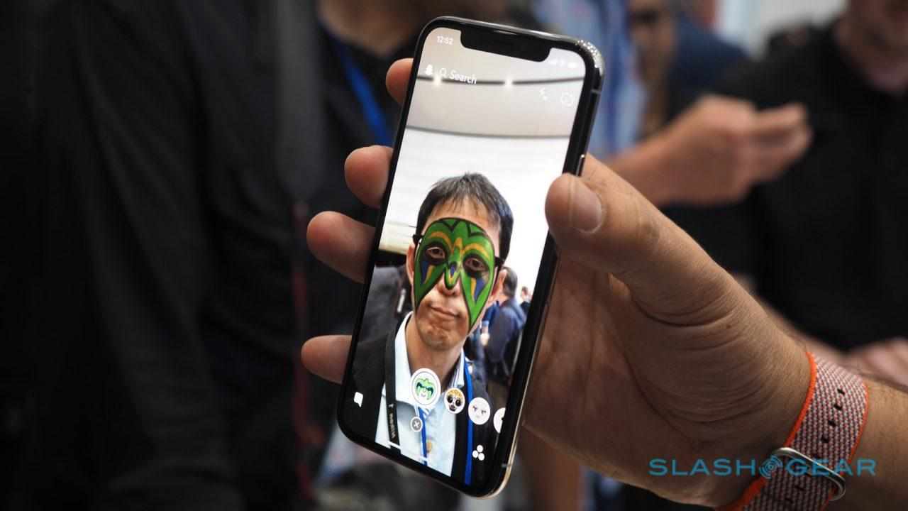 Snapchat's iPhone X AR Lenses are finally here - SlashGear