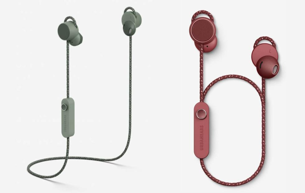 Urbanears Jakan magnetic earbuds are minimalist with single control knob