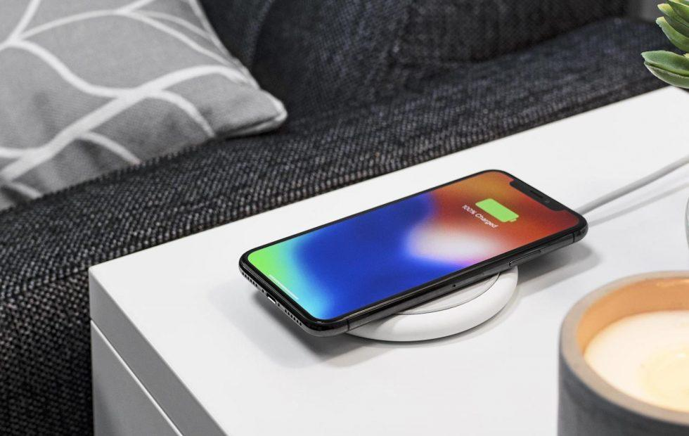 Mophie's Charge Stream Pad+ is a 10W wireless charger