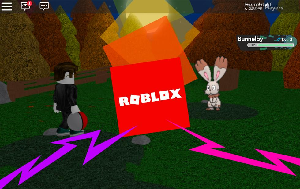 ROBLOX is like a Ready Player One game, with Pokemon