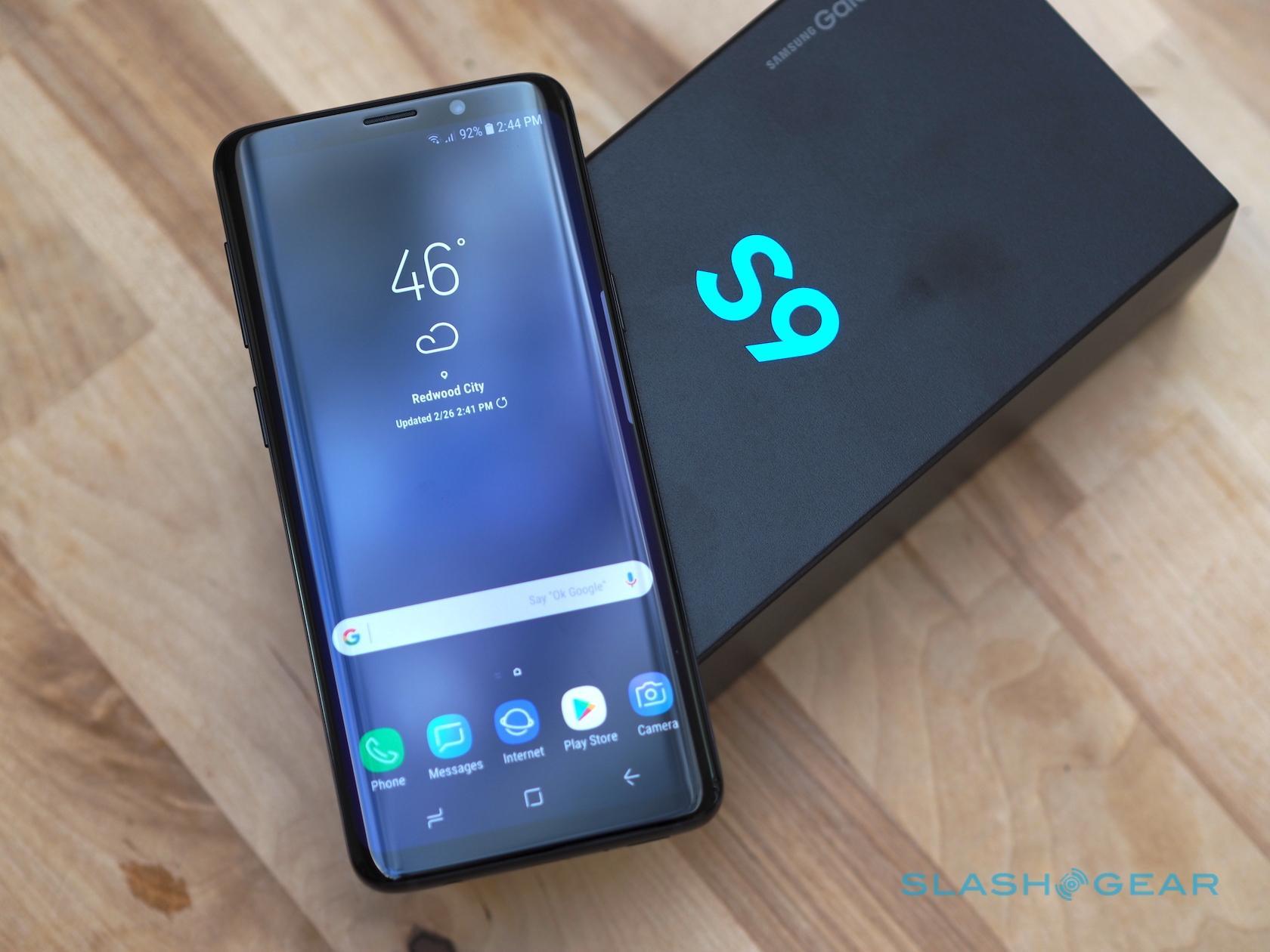 Samsung galaxy s9 developer options