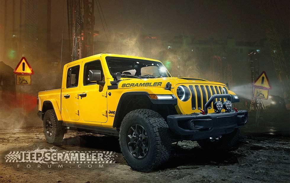 Jeep Scrambler renderings are based on tips from insiders