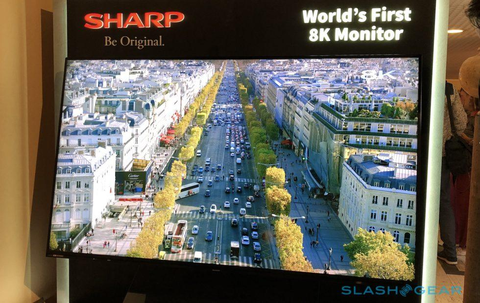 Sharp's 8K TV looks incredible (and is incredibly expensive)