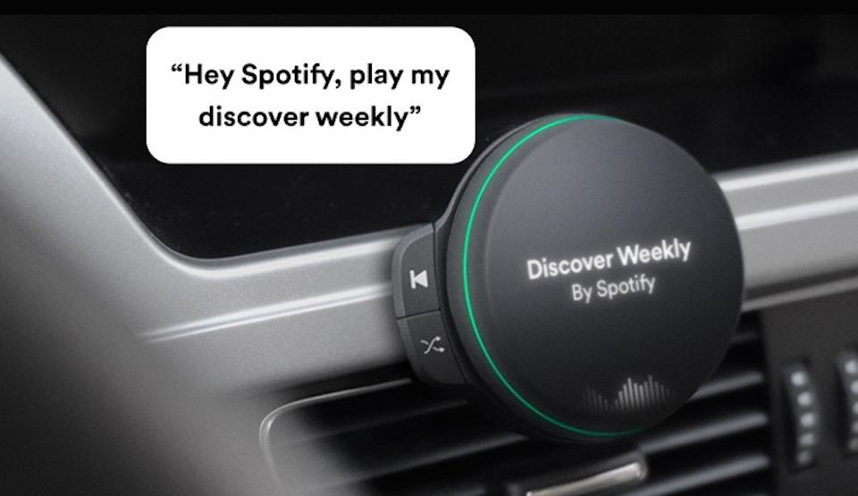 Spotify Car Player leaks: Voice-controlled 4G music streamer