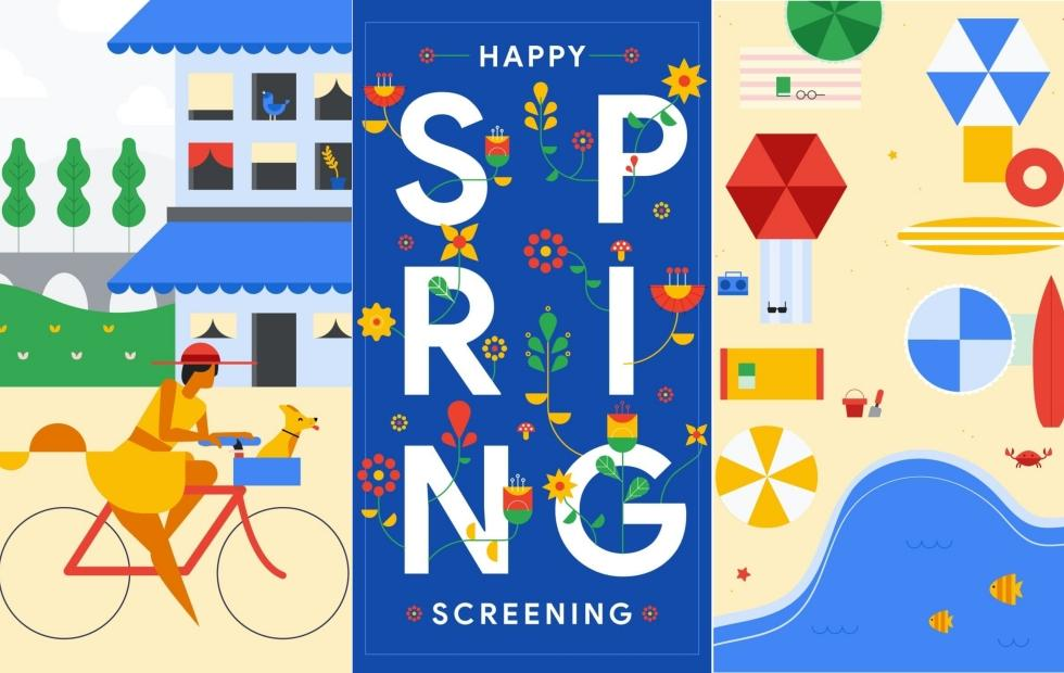Android P name hinted in Google Spring 2018 wallpapers