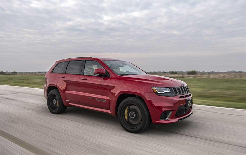 Hennessey Jeep Trackhawk HPE1000 Supercharged packs 1,012hp