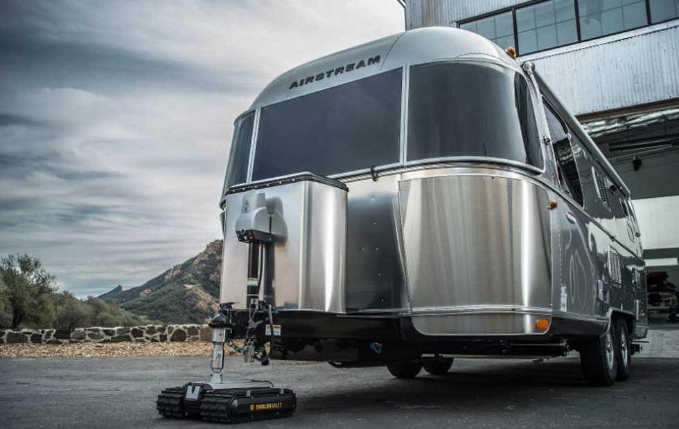 Trailer Valet RVR will move your trailer with no effort on your part