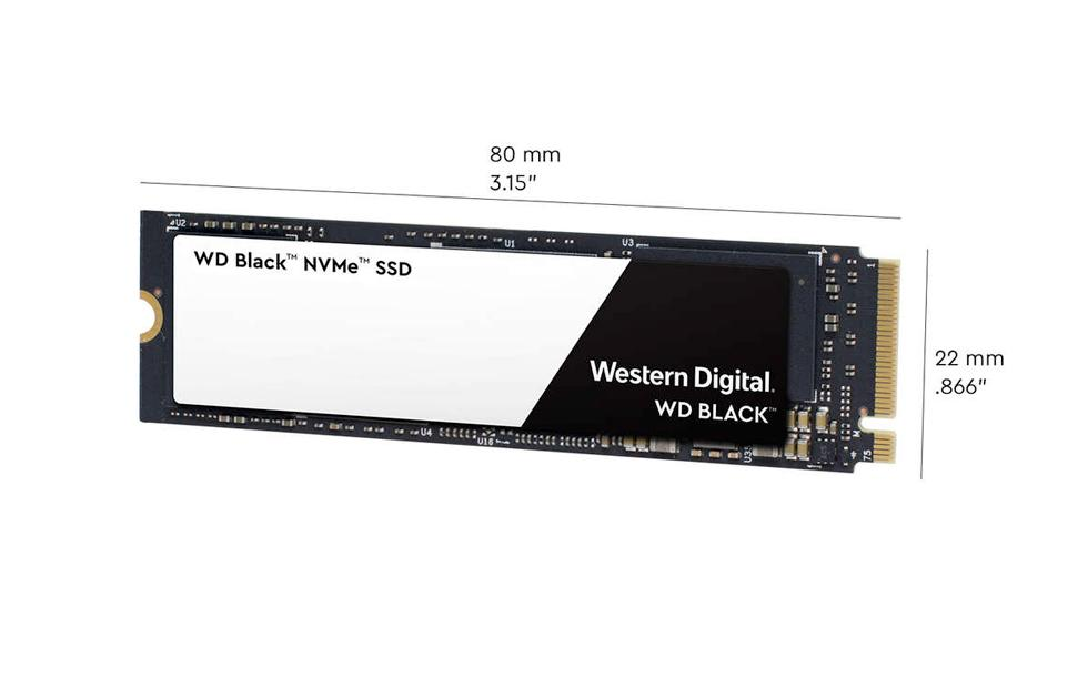 Western Digital Black NVMe SSD takes the battle to Samsung