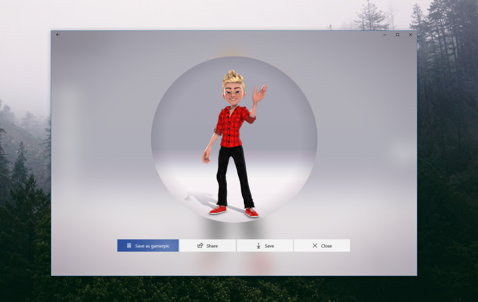 New Xbox Avatar Editor app incoming (closer this time)