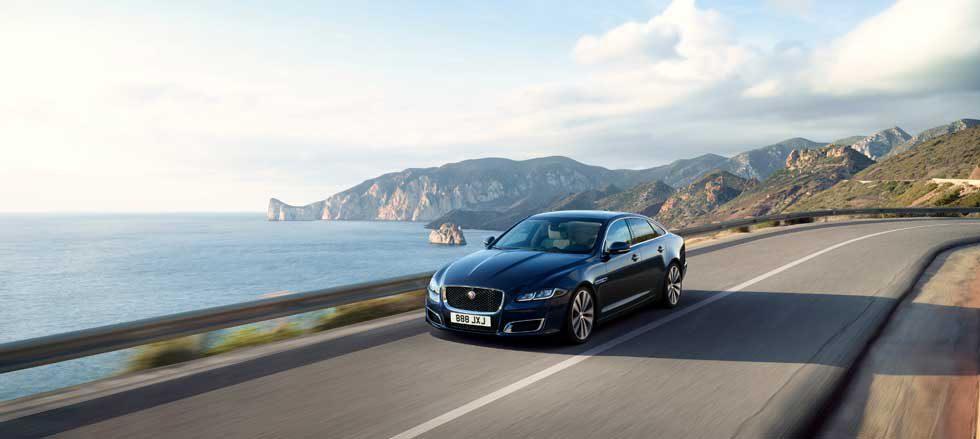 Jaguar XJ50 celebrates five decades of the XJ