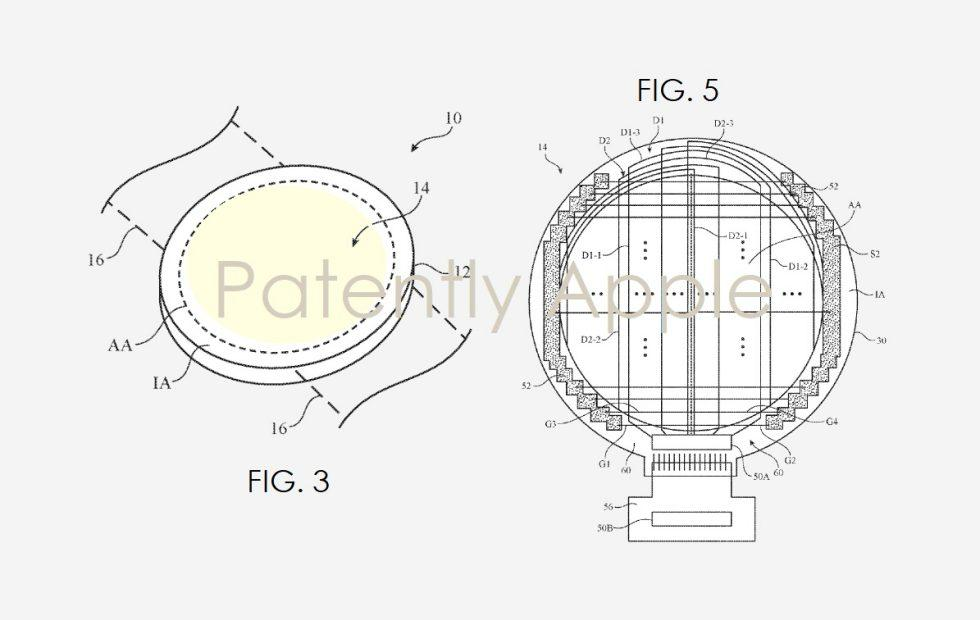 Round Apple Watch could be coming soon based on new patent