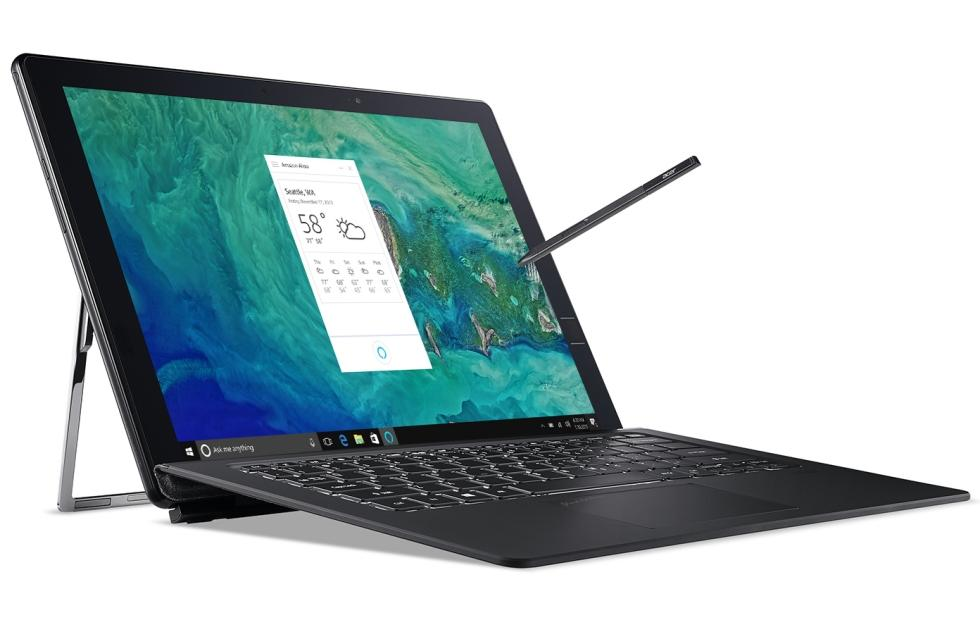 Acer Spin 3, 5 start Alexa's notebook debut, more coming