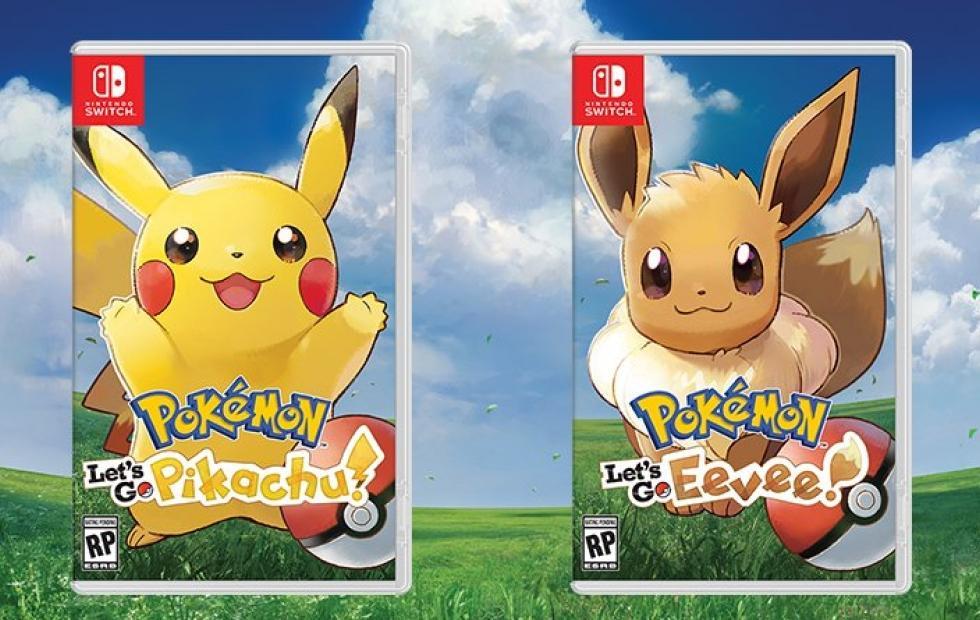 Let's Go: Pikachu, Eevee, Pokemon Quest arrive on Nintendo Switch