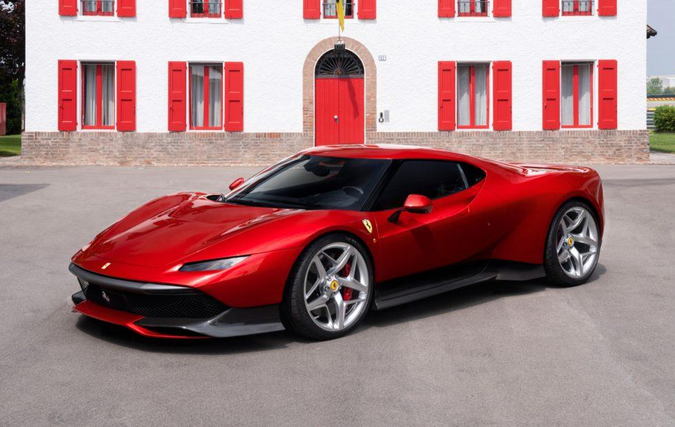 Stunning Ferrari SP38 is a One-Off reimagining of the F40