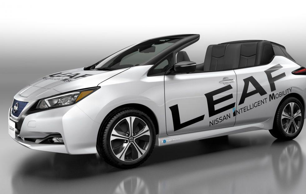 Nissan Leaf Open Top is an oddball convertible EV