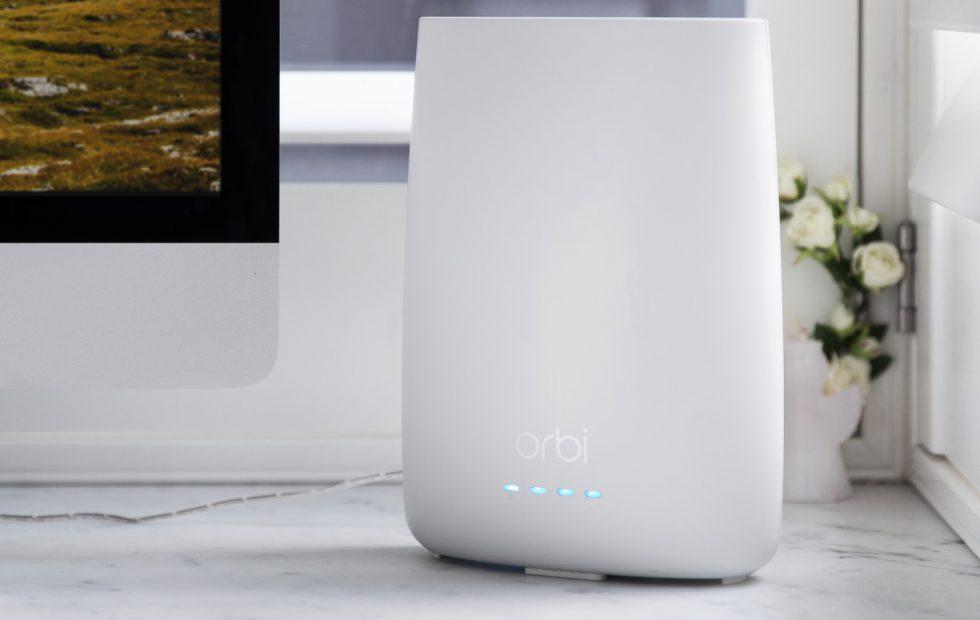Netgear's newest Orbi mesh router has a cash-saving modem inside
