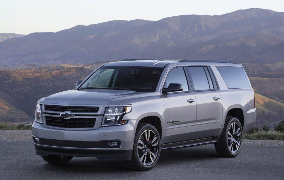 2019 Suburban RST Performance Package gets V8 aggressive