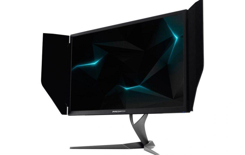 Acer Predator X27 4K, HDR, and G-Sync gaming monitor up for pre-order