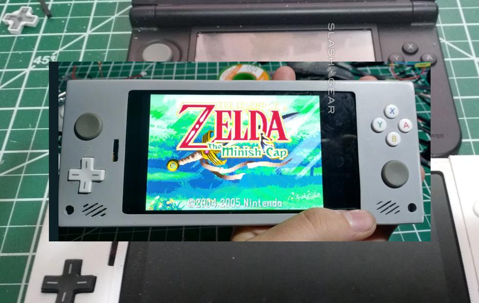 Dear Nintendo: Look at this DIY 3DS-like phone
