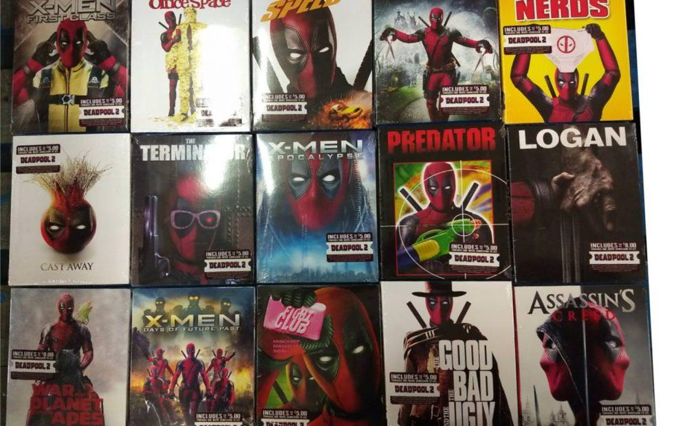 Deadpool DVD covers: Blu-rays get photobombed